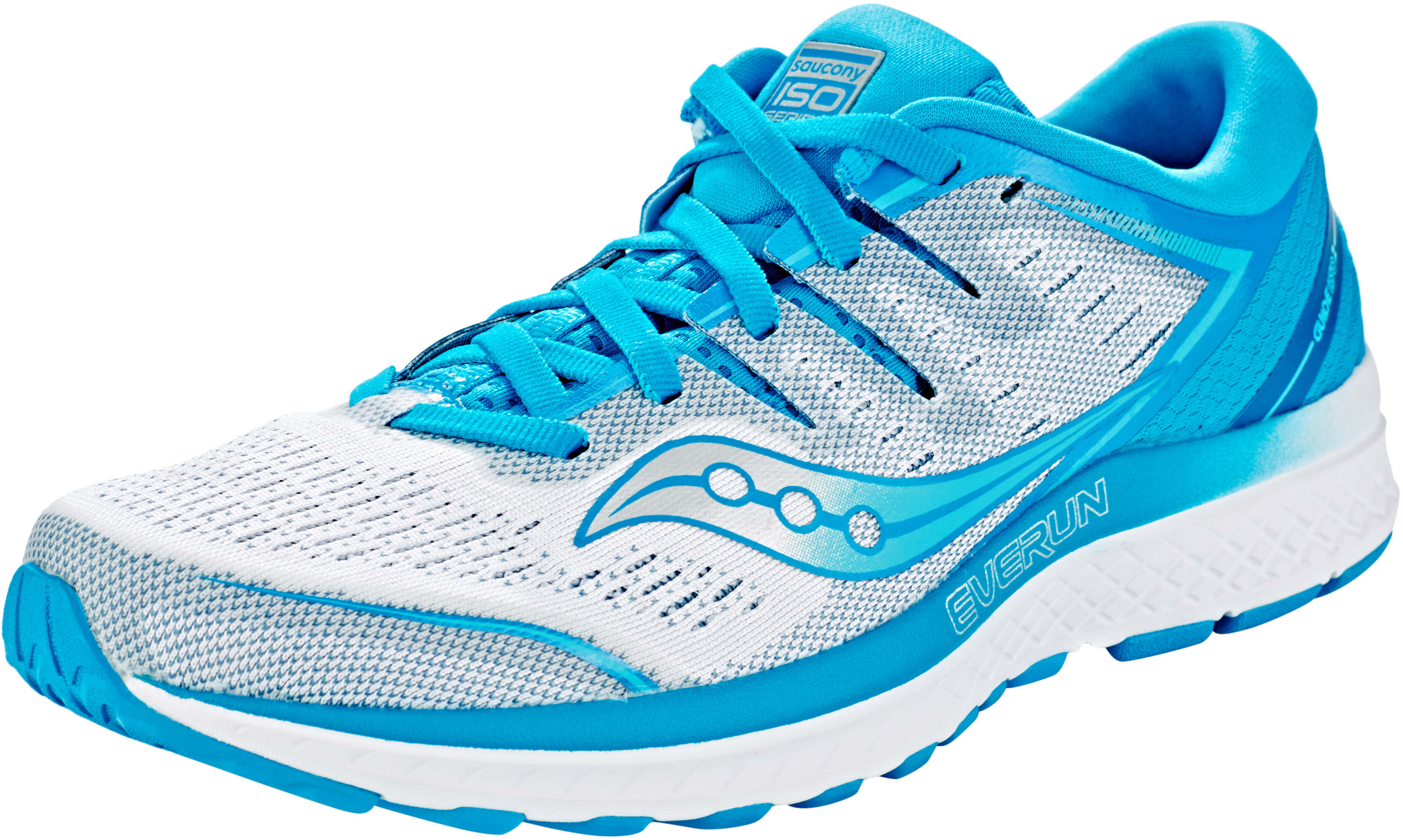 08c9bcd3476 saucony Guide ISO 2 - Chaussures running Femme - bleu blanc ...